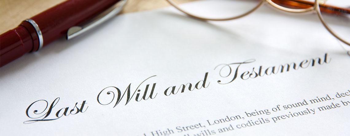 Wills, Probate & Power of Attorney